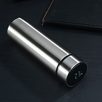 Bình giữ nhiệt chất liệu thép không gỉ 500ml – Hiển thị nhiệt độ đèn Led chỉ bằng một chạm One Touch