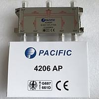 Bộ Chia 6 Pacific 4206AP Dùng Chia Chảo, Truyền Hình Cáp, Anten KTS - Hàng Nhập Khẩu