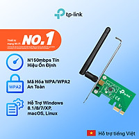 Bộ Chuyển Đổi Wifi Không Dây TP-Link TL-WN781ND PCI Express 150Mbps - Hàng Chính Hãng