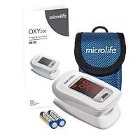 Microlife OXY 200 - Máy đo nồng độ Oxy trong máu và nhịp tim kèm bao đựng máy