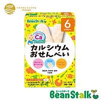 Bánh gạo ăn dặm Beanstalk Canxi cho trẻ từ 6 tháng tuổi