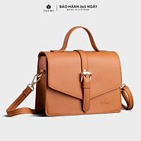 Túi đeo chéo nữ thời trang YUUMY YN82 - Chất liệu da tổng hợp cao cấp, không bong tróc, không thấm nước - Sử dụng đi dạo, đi làm, đi tiệc...(Dài 21cm x Rộng 8 cm x Cao 15cm)