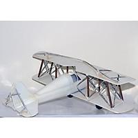 Mô hình Máy Bay Kim loại trưng bày/ Vintage Metal Airplane handmade Decoration (1904E - 7974)