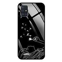 Ốp lưng Kính Cường Lực cho Samsung Galaxy A51 - 0092 BOCONGANH - Hàng Chính Hãng