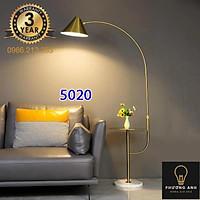 Đèn cây cần câu thân mạ vàng chân đá Đèn đứng phong cách Bắc Âu Mã 5020
