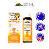 Siro Uống Nature's Way Kids Smart Cough Clear Triple Action Syrup Giảm Ho, Long Đờm, Tăng Cường Sức Khoẻ Hệ Hô Hấp 200ml