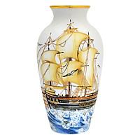 Bình Hoa T.T.Vàng Gốm Sứ Minh Long - 112776322V (27 cm)
