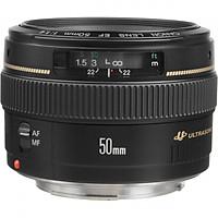 Lens Canon 50mm f/1.4 USM - Hàng Nhập Khẩu (Tặng Tấm Da Cừu Lau Ống Kính)
