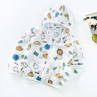 Áo khoác chống nắng Quảng Châu chống tia UV cho bé