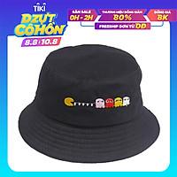 Nón bucket tai bèo Pacman Bạch tuộc vành rộng chống nắng tốt, chất liệu vải thấm hút mồ hôi - Hạnh Dương