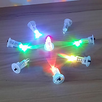 ĐÈN LED CHỚP 7 MÀU DÙNG PIN -  lắp vào đèn lồng, đèn trung thu, đồ chơi trẻ em...