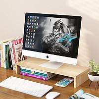 Kệ màn hình máy tính 1 tầng lắp ghép cải thiện tầm nhìn