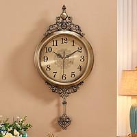 Đồng hồ treo tường phong cách Tân cổ điển - Đẹp không gian phòng khách