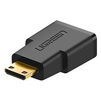 Đầu Chuyển Đổi Ugreen MiniHDMI Male Sang HDMI Female 20101 - Hàng Chính Hãng