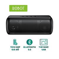 Loa Bluetooth ROBOT RB220 Công Suất 5W Hỗ Trợ Thẻ Micro SD/USB - Kết Nối 2 Loa Cùng Lúc [HÀNG CHÍNH HÃNG]