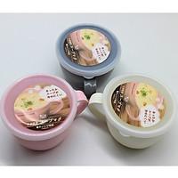 Cốc đa năng có nắp đậy 360ml sử dụng được trong lò vi sóng hâm sữa, đồ ăn nhập khẩu nhật bản- màu ngẫu nhiên