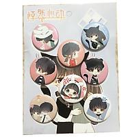 Bảng 8 huy hiệu con tim rung động anime