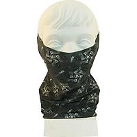 Khăn Khẩu trang Đa năng cho Nữ _Yvette LIBBY N'guyen Paris_ Màu Xám (Iron Gate)_Cotton Mélange hữu cơ (Organic), Chống nắng với 15-50 UPF