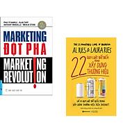 Combo 2 cuốn sách: Marketing Đột Phá + 22 Quy Luật Bất Biến Trong Xây Dựng Thương Hiệu