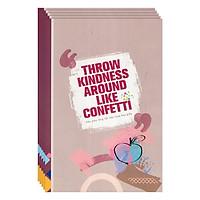 Lốc 5 Cuốn Tập Sinh Viên 200 Trang ĐL 60- Những Câu Nói Truyền Cảm Hứng (Có 3 Mẫu)(Mua 1 Lốc Tặng 1 Cuốn Cùng Loại)