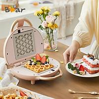 Bear Sandwich Máy làm đồ ăn sáng Trang chủ Máy làm thức ăn nhẹ Waffle Nhỏ Máy nướng bánh mì Sandwich SMZ-C06V