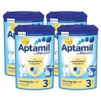 Bộ 4 hộp sữa bột công thức Aptamil số 3...
