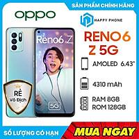 Điện Thoại Oppo Reno 6Z 5G (8GB/128G) - Hàng Chính Hãng - Đã kích hoạt bảo hành điện tử