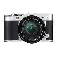 Fujifilm X-A3 + 16-50mm Silver - Hàng Chính hãng