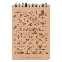 Sổ Lò Xo Khai Trí Sketch Explore - Khám Phá Thế Giới (100 trang)