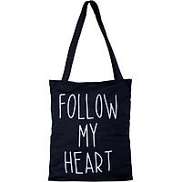 Túi Vải Đeo Vai Tote Bag Follow XinhStore
