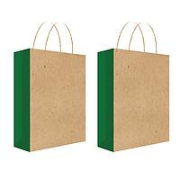 Túi đựng quà, túi giấy Kraft T13 - Combo 2c (410)