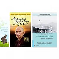 Combo 2 cuốn: Không Diệt Không Sinh Đừng Sợ Hãi, Cởi Trói Linh Hồn (Tặng kèm bookmark danh ngôn hình voi)