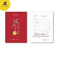 Sách - Combo Yêu là cuộc chia tay không hồi kết - Yêu em như yêu sinh mệnh