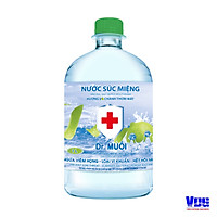 Nước súc miệng Dr. Muối hương vỏ chanh (1000ml)