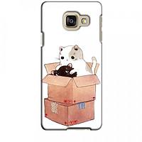 Ốp lưng dành cho điện thoại SAMSUNG GALAXY A3 2016 Mèo Con Dễ Thương