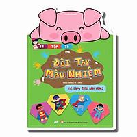Sách - Đôi Tay Màu Nhiệm - Bé Tập Tô Màu Siêu Anh Hùng - Dành Cho bé Từ 3 Tuổi