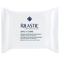 Khăn giấy tẩy trang Rilatil Daily Care Make-up Removing wipes 25 tờ