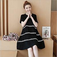 Váy bầu thiết kế chất cotton mềm mát V144