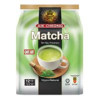 Trà Sữa Vị Trà Xanh Aik Cheong Matcha Café Art...