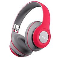 Tai nghe không dây bluetooth SoundMax BT700 (hồng đỏ/ đen - hàng chính hãng