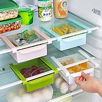 Bộ 2 Khay Nhựa Để Đồ Tiện Ích Trong Tủ Lạnh - Giao Màu Ngẫu Nhiên