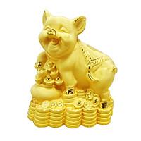 Kim Trư Phú Quý phủ vàng 24K quà tặng mỹ nghệ KBP DOJI DJDE8326