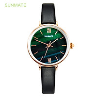 Đồng hồ Nữ SUNMATE S20021LA Máy Pin (Quartz) Dây Da