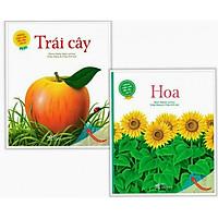 Combo 2 cuốn Những Khám Phá Đầu Tiên Của Tớ: Hoa + Trái Cây ( Tặng kèm bookmark thiết kế Phương Đông)