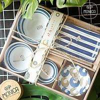 Set chén đĩa gốm Nhật