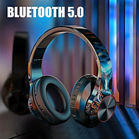 Noise Cancelling Bluetooth Wireless Headphones Over Ear, Comfortable Protein Earpads 25 hours Playtime for Travel Work Sports