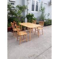 Bộ bàn ăn 4 ghế PL06
