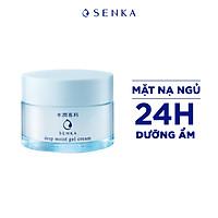Mặt Nạ Ngủ Cấp Ẩm Chuyên Sâu Dạng Gel Senka Deep Moist Gel Cream 50g