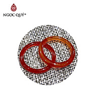 1 Cặp Nhẫn Đá Thiên Nhiên May Mắn - Ngọc Quý Gemstones