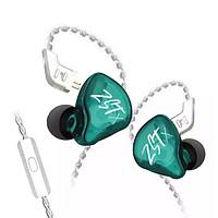 Tai nghe KZ ZST-X, Công nghệ âm thanh hybrid, dây dẫn mạ bạc, Bản nâng cấp rất tốt của ZST có micro - Hàng chính hãng
